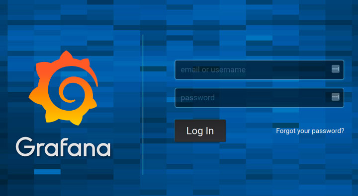 Grafana Dashboard - Grafana Login