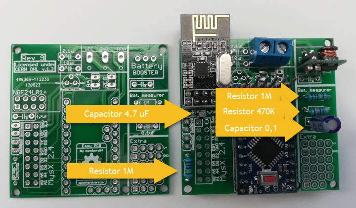 Arduino DIY Door Sensors: Before and After PCB